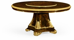 "495641-LS-31D-BMA Jonathan Charles Monte Carlo 31"" Lazy Susan Of 63"" Dining Table"