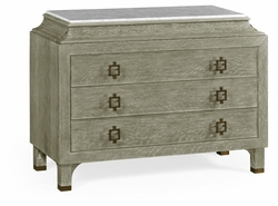 495652-GYO Jonathan Charles Fine Furniture JC Modern - Eclectic Greyed Oak Chest Of Drawers