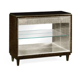495668-BEC Jonathan Charles Contemporary/Modern JC Modern - Belgravia collection Black Eucalyptus Sideboard