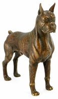 495688-CBV Jonathan Charles Curated Copper Toned Bronze Boxer Dog