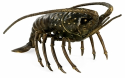 495690-DRB Jonathan Charles Curated Antique Dark Bronze Langoustine