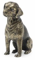 495692-DBR Jonathan Charles Curated Antique Dark Bronze Beagle Dog