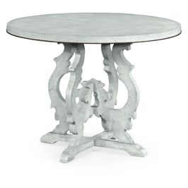 495721-LGM Jonathan Charles Casual JC Edited - Casually Country Collection Grey Mahogany Centre Table