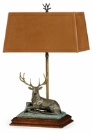495761-RGT-DBR Jonathan Charles Curated Deer Table Lamp - Right