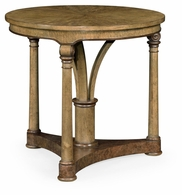 495876-EBO Jonathan Charles Fine Furniture JC Edited - Cambridge Round English Brown Oak Lamp Table
