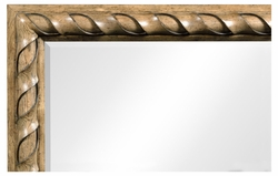 495896-EBO Jonathan Charles Fine Furniture JC Edited - Cambridge Large Rectangular English Brown Oak Hanging Mirror