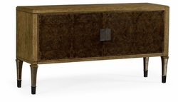 495900-EBO-BBW Jonathan Charles Fine Furniture JC Edited - Cambridge Large Rectangular English Brown Oak & Dark Brown Burl Walnut Buffet