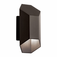 49607AZTLED Kichler Contemporary - Small Outdoor Wall 1Lt LED