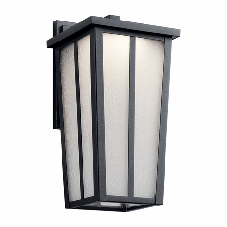 49622BKTLED Kichler Transitional - Small Outdoor Wall 1Lt LED