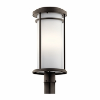 49690OZ Kichler Transitional Lantern Outdoor Post Mount 1Lt