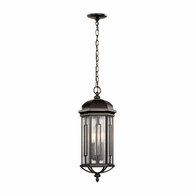 49713OZ Kichler Fixtures Traditional Olde Bronze Outdoor Pendant 3Lt