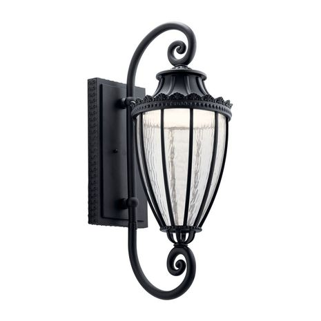 49753BKTLED Kichler Traditional - Large Outdoor Wall 1Lt LED