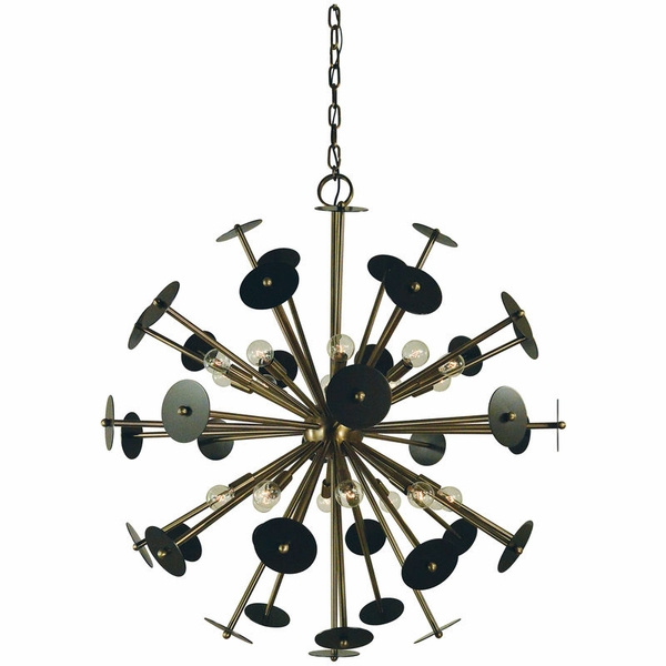 4978 Framburg Apogee 20 Light Chandelie