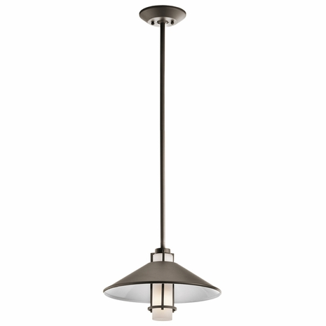 49814OZ Kichler Tavistock 1Lt Outdoor Hanging Pendant (DISCONTINUED ITEM!)