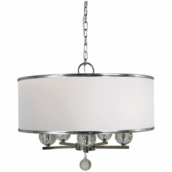 4998 Framburg Glamour 5 Light Chandelie