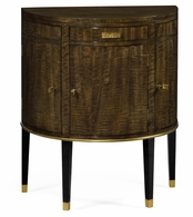 500052-ECB Jonathan Charles Fine Furniture JC Modern - Eclectic Coffee Bean Eucalyptus Commode Table