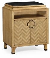 500065-NCO Jonathan Charles Fine Furniture JC Modern - Eclectic Natural Oak Nightstand