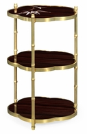 500091-ABR Jonathan Charles Fine Furniture JC Modern - Indochine Bamboo Three-Tier End Table
