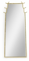 500190-GLB Jonathan Charles Fine Furniture JC Modern - Indochine Asian Fusion Dorado Bronze Floor Standing Mirror