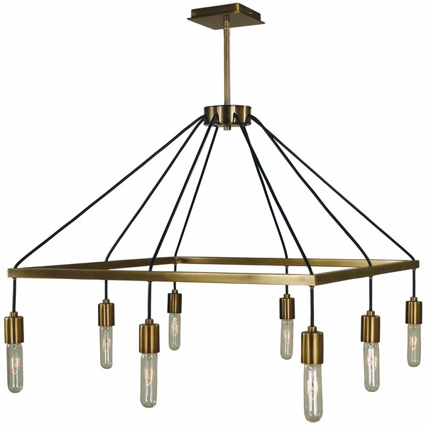 5020 Framburg Celestial 8 Light Chandelier