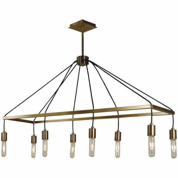 5023 Framburg Celestial 8 Light Island Chandelier