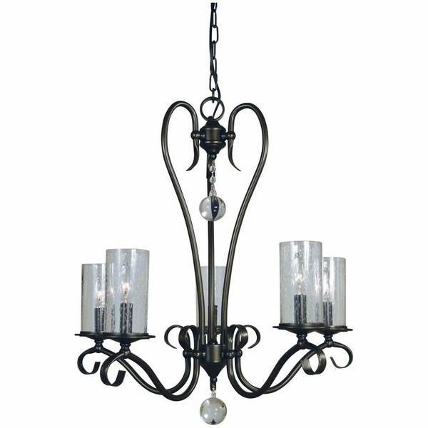 5025 Framburg Ilsa 5 Light Chandelier