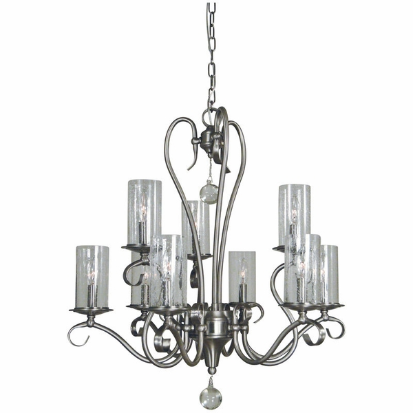 5029 Framburg Ilsa 9 Light Chandelier