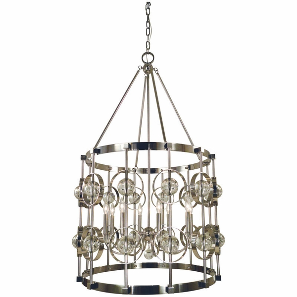 5037 Framburg Ephemeris 8 Light Foyer Chandelier