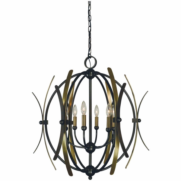 5055 Framburg Monique 6 Light Chandelier