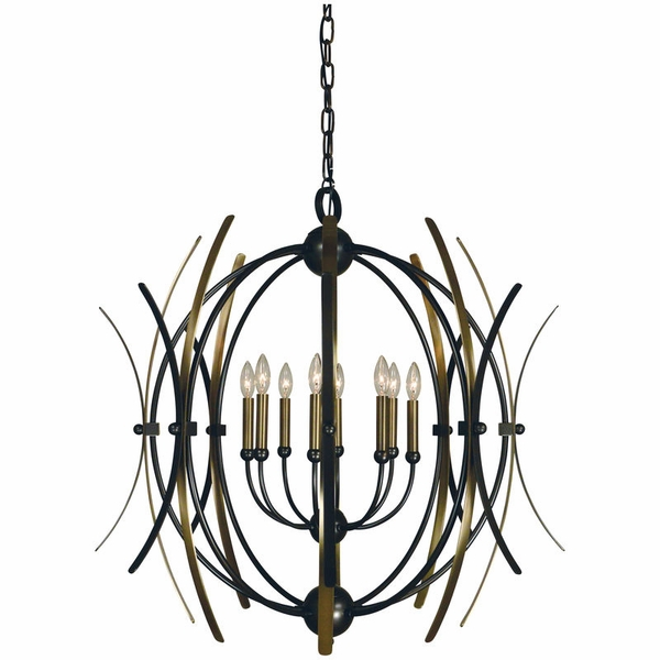 5058 Framburg Monique 8 Light Chandelier