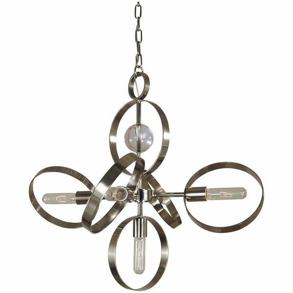5064 Framburg Copernicus 5 Light Chandelier