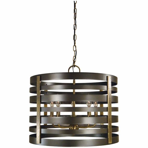 5095 Framburg Pastoral 5 Light Chandelier