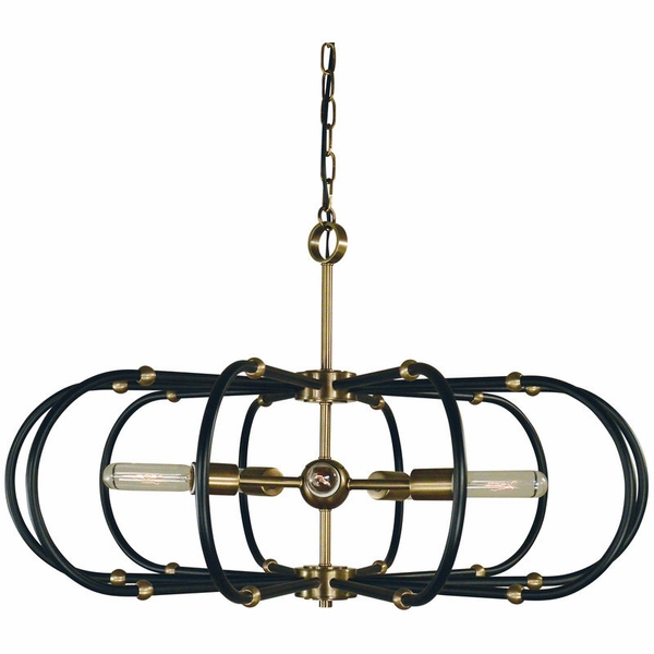 5105 Framburg Pulsar 5 Light Chandelier