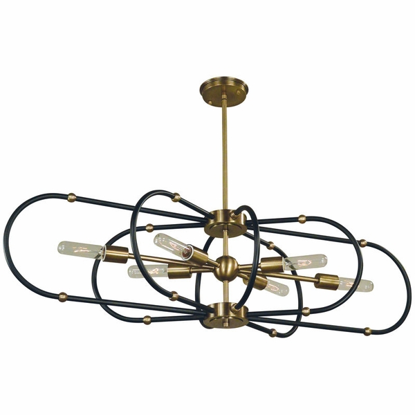 5106 Framburg Pulsar 6 Light Chandelier
