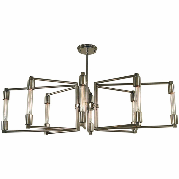 5118 Framburg Focal 8 Light Chandelier