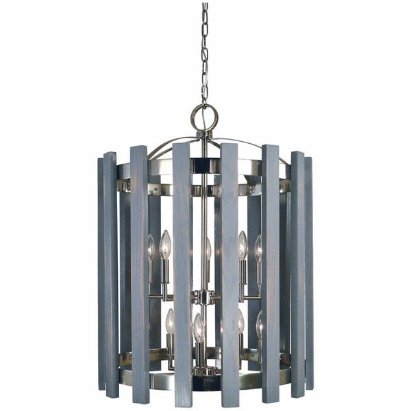5120 Framburg Arcadia 10 Light Chandelier