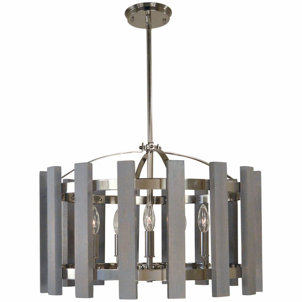 5125 Framburg Arcadia 5 Light Chandelier