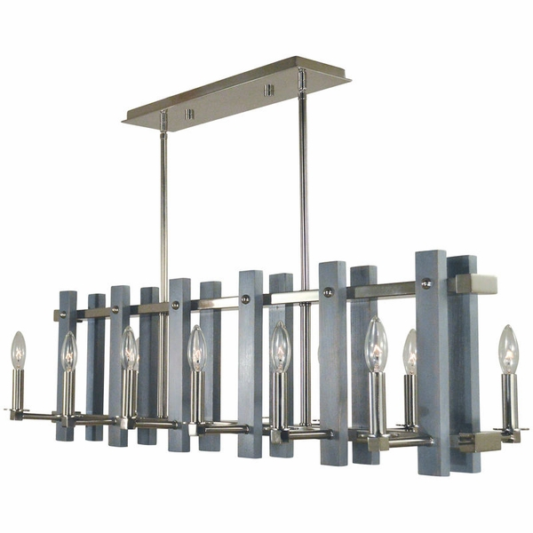 5127 Framburg Arcadia 12 Light Island Chandelier