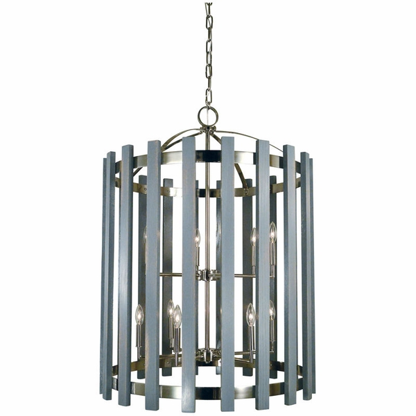 5128 Framburg Arcadia 12 Light Foyer Chandelier