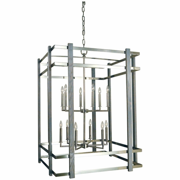 5268 Framburg Arcadia 12 Light Foyer Chandelier