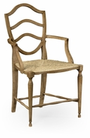 530000-AC-WAO Jonathan Charles Fine Furniture William Yeoward Collected - Country House Chic Bodiam Washed Oak Armchair