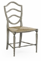 530000-SC-GYO Jonathan Charles Fine Furniture William Yeoward Collected - Country House Chic Bodiam Grey Oak Side Chair