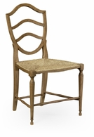 530000-SC-WAO Jonathan Charles Fine Furniture William Yeoward Collected - Country House Chic Bodiam Washed Oak Side Chair