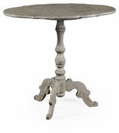 530017-GYO Jonathan Charles Fine Furniture William Yeoward Collected - Country House Chic Bedale Grey Oak Occasional Table
