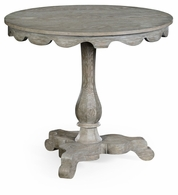 530020-GYO Jonathan Charles Fine Furniture William Yeoward Collected - Country House Chic Overbury Grey Oak Table