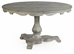 "530021-54D-GYO Jonathan Charles Fine Furniture William Yeoward Collected - Country House Chic 54"" Overbury Grey Oak Breakfast Table"