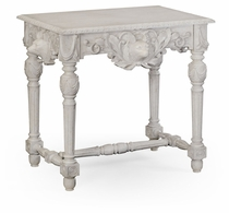 530028-CWO Jonathan Charles Fine Furniture William Yeoward Collected - Country House Chic Godwyn Country White Oak Side Table