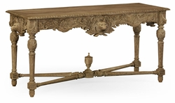 530029-WAO Jonathan Charles Fine Furniture William Yeoward Collected - Country House Chic Godwyn Washed Oak Console