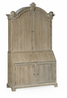 530034-WAA Jonathan Charles Fine Furniture William Yeoward Collected - Country House Chic Alnwick Washed Acacia Bureau