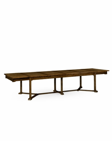 530041 Jonathan Charles William Yeoward Hawford Dining Table with Kitchen Oak Finish